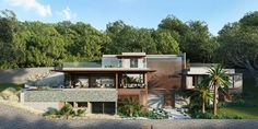 CASA DI PIACENZA | Mauricio Rebello Green Roof System, Green Terrace, Thermal Comfort, Roofing Systems, Reinforced Concrete, Corten Steel, Guest Suite, Sliding Glass Door, Facade