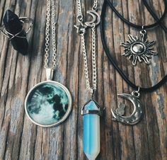 Hippie and Boho necklaces