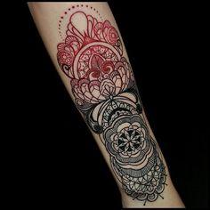Ornament Tattoo Unterarm