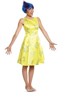Check out the deal on Inside Out Joy Deluxe Adult Costume - FREE SHIPPING at PureCostumes.com