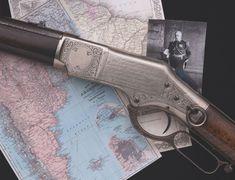 Historic Presentation Engraved Winchester Model 1866 Lever Action Saddle Ring Carbine