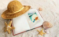 Summer Holidays, Beach, Shells 1280x800 download
