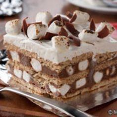 S'mores Icebox Cake Recipe - ZipList