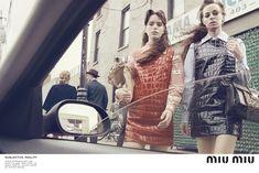 nice Street style is the new Miu Miu campaign for Fall/Winter 2015  [Campaign] #miumiucampaign #miumiu2016