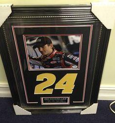 Signed Jeff Gordon Photograph - 8x10 Framed Display #24 PSA DNA COA - Autographed NASCAR Photos by Sports Memorabilia. $277.22. Jeff Gordon Hand Signed 8x10 Photo Framed Autograph Display #24 PSA DNA COA