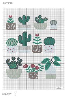 Readly - CrossStitcher - 68 - CrossStitcher is Britain's number one cross stitch magazine, and it's packed with beautiful designs for you to sti Cactus Cross Stitch, Tiny Cross Stitch, Cross Stitch Bookmarks, Simple Cross Stitch, Cross Stitch Flowers, Modern Cross Stitch, Cross Stitch Designs, Cross Stitch Patterns, Cross Stitching
