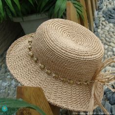 Crochet Summer Hat Sombreros 64 Ideas For 2019 Crochet Mittens, Crochet Yarn, Easy Crochet, Crochet Pillow Pattern, Afghan Crochet Patterns, Hat Patterns, Sombrero A Crochet, Crochet Summer Hats, Crochet Baby Bonnet