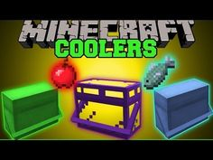 Minecraft: COOLERS (STORE & EAT FOOD AUTOMATICALLY) Mod Showcase