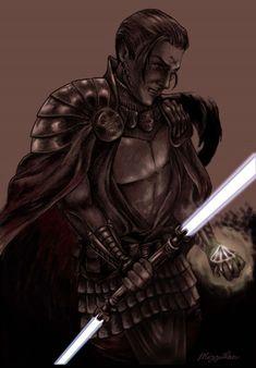 Exar Kun by Mizzilan Jedi Sith, Sith Lord, Star Wars Timeline, Star Wars The Old, Star Wars Images, The Old Republic, Jedi Knight, Dark Lord, Sci Fi Fantasy