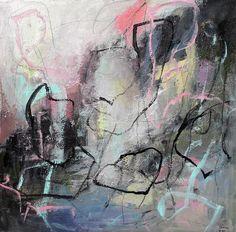 Abstrakte Malerei - Abstract acrylic, art,kunst, mixed media, Abstrakte kunst