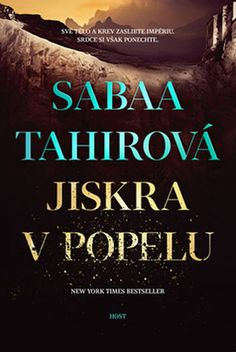 Czech cover of the book An Ember in the Ashes by Sabaa Tahir.