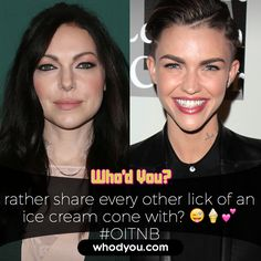who d you rather female celebrities