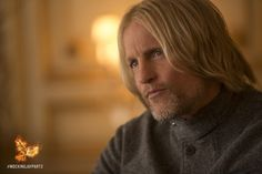 Haymitch - a mentor to the Mockingjay since Day 1. Follow @TheHungerGames on Twitter now to vote on the next EXCLUSIVE #MockingjayPart2 image reveal! https://twitter.com/TheHungerGames