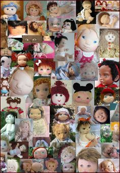Free Fabric Doll Patterns | Celebrating the Cloth Doll Baby, Dollmakers and Designers. Pictures ...