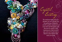 My necklace that is featured in Bead Design Studio.