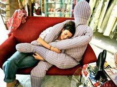 Подушка-обнимашка своими руками