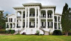 Nottoway Plantation.  Has to be the best Southern Mansion of all time.