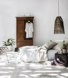 Boho Bedroom Style -  Styling/Photography: Indie Home Collective