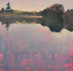 Morning Slough, painting by artist Randall David Tipton