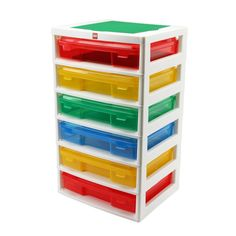 Love this! Good idea for storing Legos or art supplies. Cases slide out and snap shut for portable use