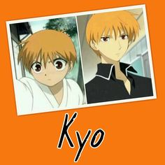 """""""Fruits Basket"""" - Little Kyo and Teenage Kyo. He is such a cutie!"""