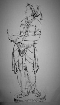 Outline Art, Outline Drawings, Art Drawings Sketches, Sketch Art, Shiva Art, Hindu Art, Dancing Drawings, Beautiful Sketches, Indian Art Paintings