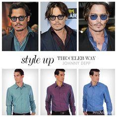 Are you a Johnny Depp fan ?  #styleupthecelebway #fan #johnnydepp  Shirts at Flat Rs. 899  www.provogue.com