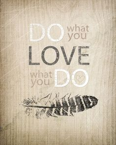 Do what you love ★ iPhone wallpaper