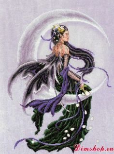 Embroidery set Vervaco 75213 Solace (Moonlight Fairy)