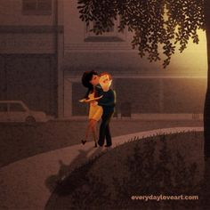 I'll take care of you (2012) - happy weekend, everyday lovers! #nidhichanani #everydayloveart #illustration