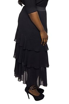 61d5a9b5e4 British Womens Ra Ra Plus Size Maxi Skirt  British  PlusSize  UK  FashionBug
