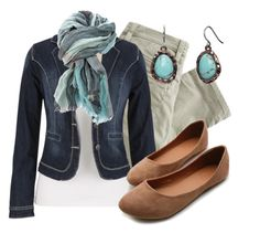 Denim Blazer by qtpiekelso on Polyvore featuring Nudie Jeans Co., Ollio and Burberry