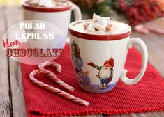 Polar Express Hot Chocolate | The Girl Who Ate Everything