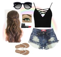 """""""Summer Outfit"""" by ericastiles on Polyvore featuring Boohoo, M&Co, Ace and NARS Cosmetics"""