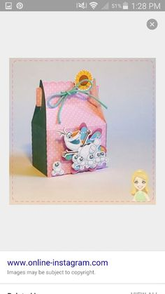 Snowgies and Olaf favor box