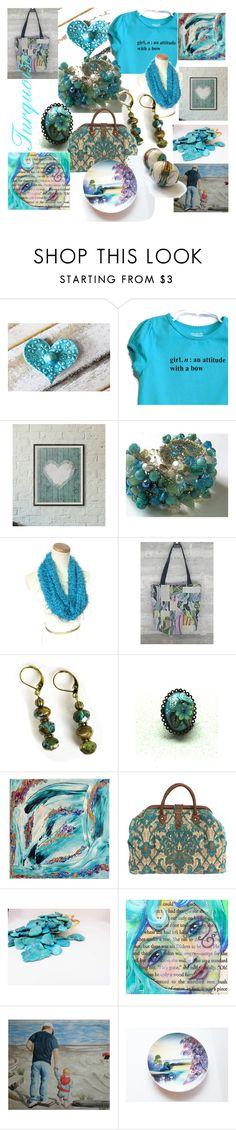Turquoise by clschmauder on Polyvore featuring interior, interiors, interior design, home, home decor, interior decorating, Home, jewelry and women