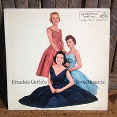 Frankie Carle - Frankie Carle's Sweethearts - Album Vinyl Record Lp -  RCA Victor LPM-1222 - Released 1956
