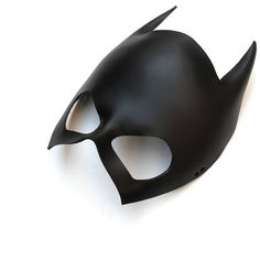 Leather Mask Batgirl Batwoman Catwoman Black Super Hero Gift Sexy... (€35) ❤ liked on Polyvore featuring costumes, batman costume, sexy costumes, mardi gras costumes, sexy cosplay costumes and sexy batman costume