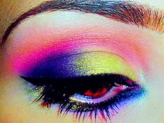 Pink, Purple and Lime Green