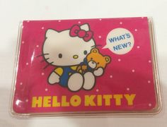 Vintage Hello Kitty card case 1984 Sanrio made in Japan by TownOfMemories on Etsy