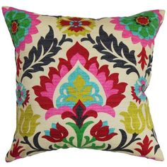 Boho Throw Pillow - The Pillow Collection : Target ❤ liked on Polyvore featuring…