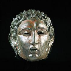 Roman cavalry helmet with face mask. Monastry of Herzogenburg