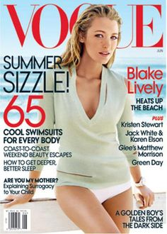 International fashion mags - nothing like kicking back and paging through Vogue