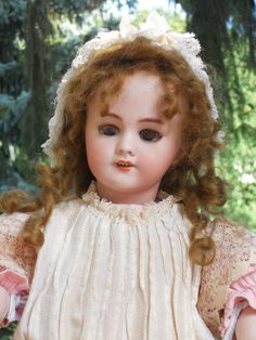 ~~~ Most beautiful Antique French ~ DEP ~ Bisque Doll ~~~ Found on Ruby Lane