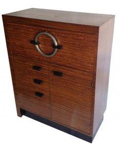 Gilbert Rohde East Indian Laurel Drop Front Secretary Desk | Modernism