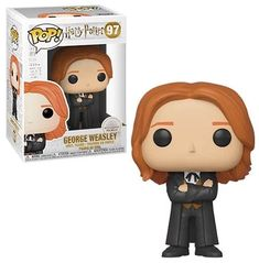 Your favorite characters from Harry Potter are adorable Pop! This Harry Potter George Weasley Yule Ball Pop! Vinyl Figure measures about 3 tall. Comes packaged in a window display box. Harry Potter Pop Figures, Harry Potter Pop Vinyl, Harry Potter Ron, Pop Vinyl Figures, Funko Pop Display, Funko Pop Dolls, Albus Dumbledore, Severus Snape, Draco Malfoy