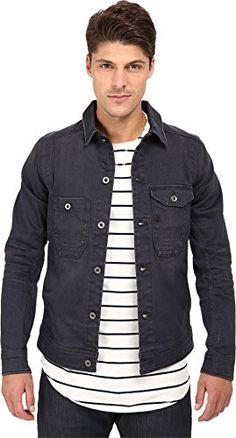 G-Star Raw Men's Wolker 3D Slim Fit Denim Jacket
