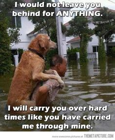 I will carry you over hard times…