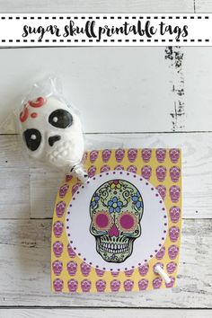 Celebrate Dia de los Muertos with these beautiful hand illustrated sugar skull printables from Everyday Party Magazine. #DayOfTheDead #SugarSkulls #DiaDeLosMuertos