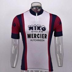 8fd90325e Miko Mercier cycling Jersey replica short sleeve. Tour De France